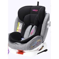 Babybay YC06 安全座椅 0-4-12岁 智能款闪电黑
