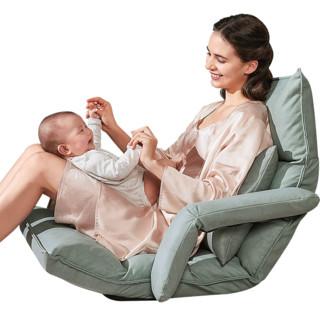 Joyourbaby 佳韵宝 哺乳椅子新生儿哺乳枕抱娃喂奶神器床上抱托娃护腰靠背枕宝宝喂奶枕椅子 缬草绿