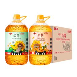 MIGHTY 多力 葵花籽油调和油组合  3.68L*2桶
