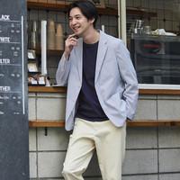 16日0点:UNIQLO 优衣库 437190 男装 快干轻型西装夹克