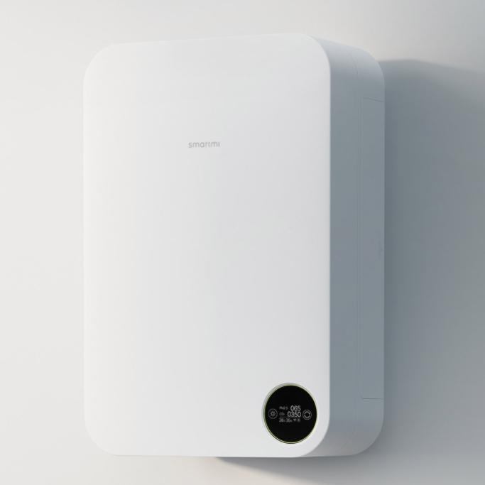 16日0点 : smartmi 智米 XFXT01ZM 壁挂式新风系统 白色