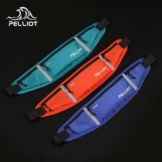 PELLIOT 伯希和 户外运动腰包男女ins多功能防水跑步运动轻便斜挎手机胸包