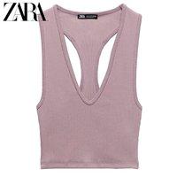 16日0点:ZARA 00962332620 女装罗纹短款上衣