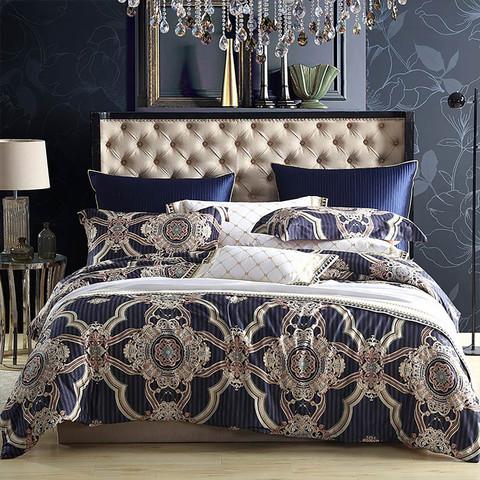 MENDALE 梦洁家纺 浮华宫 60支长绒棉欧式床上四件套 1.8M