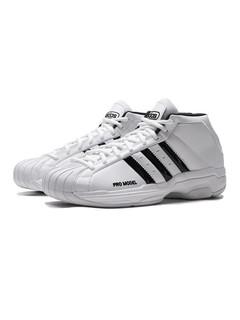 adidas 阿迪达斯 男鞋篮球鞋复古三条纹篮球休闲运动鞋FW4344