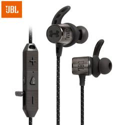 JBL 杰宝 SPORT WIRELESS REACT 入耳式颈挂式蓝牙耳机 黑色
