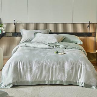 天丝四件套 100%莱赛尔60支面料床单被套床上用品 (200*230cm被套)