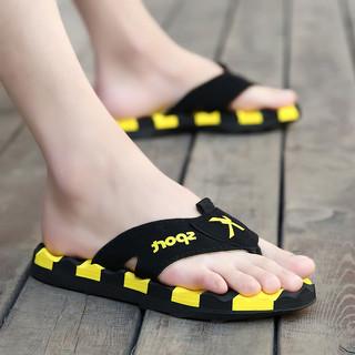 夏季人字拖个性室外沙滩潮流韩版防滑2021新款外穿凉鞋凉拖鞋男士