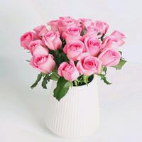 linkinjoy 鲜花速递  xQ 玫瑰16枝赠4枝(单色随机)