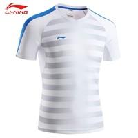 LI-NING 李宁 AAYM099 男士短袖T恤