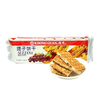 KHONG GUAN 康元 提子饼干 原味 200g