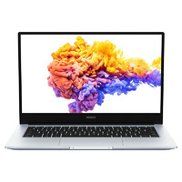 HONOR 荣耀 MagicBook 14 2020款 锐龙版 14.0英寸 轻薄本 冰河银(AMD R5-4500U、核芯显卡、16GB、512GB SSD、1080P、IPS)