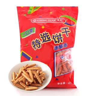 KHONG GUAN 康元 香酥条 饼干 原味 350g