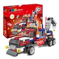 布鲁可 交通工具系列 布布百变重型卡车