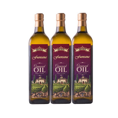 fuensana 葡萄油1L*3瓶