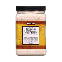 88VIP:KIRKLAND Signature 科克兰 喜马拉雅红盐粉盐玫瑰盐  2.27kg/罐