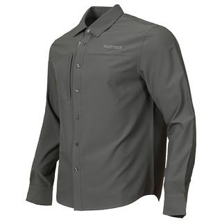 Marmot 土拨鼠 X41893 男士运动透气长袖速干衬衫