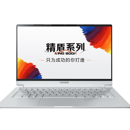 Hasee 神舟 精盾 U45S1 14.0英寸 轻薄本 银色(酷睿i5-8265U、MX250 、16GB、512GB SSD、1080P、IPS、60Hz、HPFS)