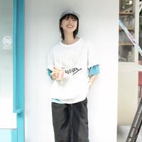 broadcast 播 DDO2YD23959 女士印花T恤