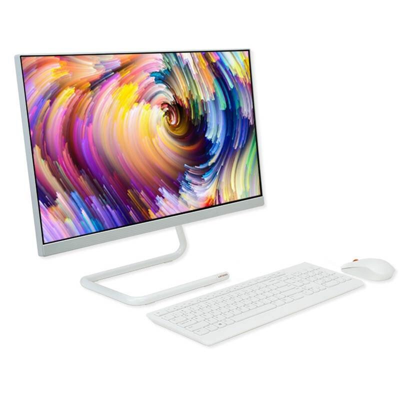 Lenovo 联想 AIO 520C-24 23.8英寸 商用一体机 白色(锐龙R5-4600U、核芯显卡、16GB、512GB SSD、1080P、60Hz)