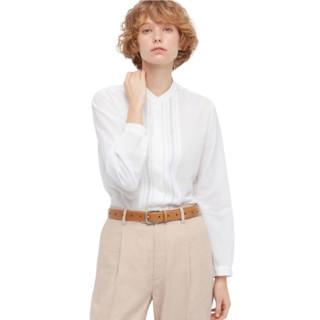 UNIQLO 优衣库 设计师合作款 436211 女士全棉立领衬衫