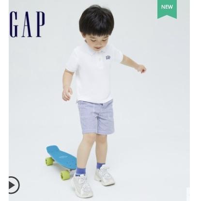 Gap 盖璞 儿童LOGO短袖