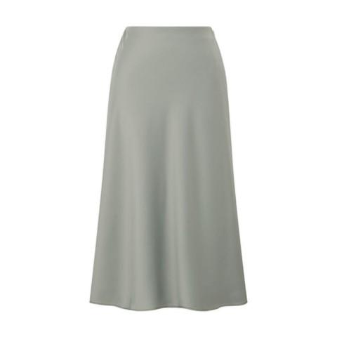 UNIQLO 优衣库 433282 女士丝缎质感窄身裙