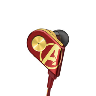 kuwo 酷我 K1-IP 钢铁侠版 入耳式颈挂式降噪蓝牙耳机 红色