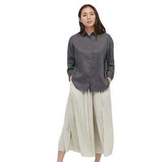 UNIQLO 优衣库 433622 女装法国麻衬衫