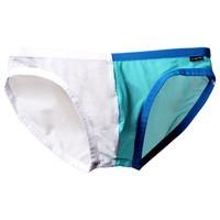 Holelong 活力龙 个性格网纱双拼内裤