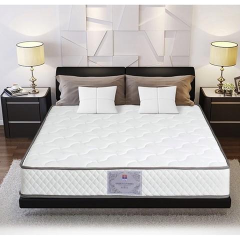 FUANNA 富安娜 床垫硬垫席梦思双人卧室榻榻米软垫家用1.8m弹簧天然椰棕垫