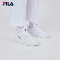 FILA 斐乐 男子篮球鞋 2020夏新款板鞋运动鞋男鞋CAGE LOW -T 集团白-WT 40