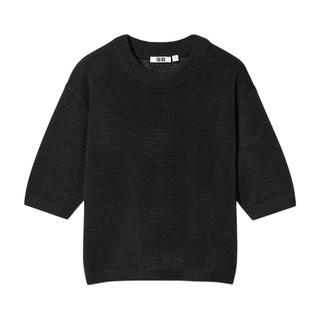 UNIQLO 优衣库 437336 女款圆领针织衫