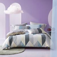 LOVO 乐蜗家纺 40支纯棉床上用品四件套 150*215cm