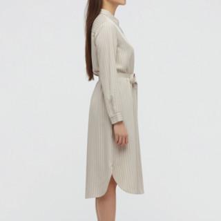 UNIQLO 优衣库 女士衬衫连衣裙 436063