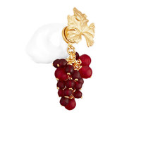Dior 迪奥 TRIBALES系列 E1488TRIFW_D864 琉璃珠葡萄珍珠耳环