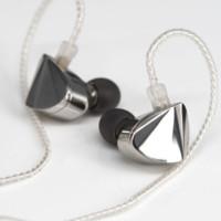 Moondrop 水月雨 KXXS 入耳式动圈有线耳机 银色 3.5mm