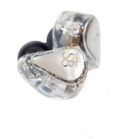 Moondrop 水月雨 S8 入耳式动铁有线耳机 白色 3.5mm