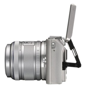 OLYMPUS 奥林巴斯 E-PL5 M4/3画幅 微单相机 银色 14-42mm F3.5 变焦镜头 单头套机+8G内存卡
