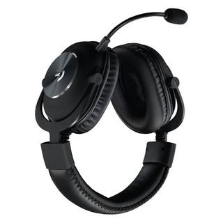 logitech 罗技 PRO X 耳罩式头戴式有线耳机 黑色 3.5mm