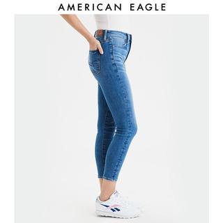AMERICAN EAGLE AEO2020春季新款女士高腰紧身牛仔裤American Eagle 2433_2446