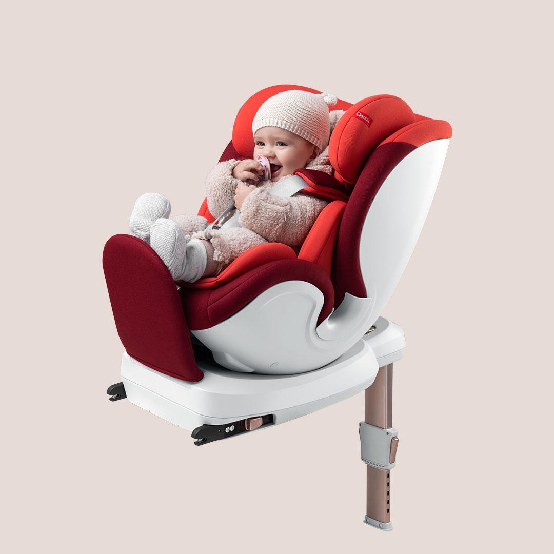 QBORN 0-12岁旋转儿童安全座椅