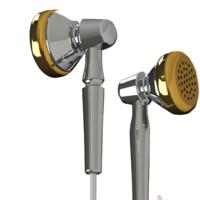Moondrop 水月雨 CHACONNE 平头塞挂耳式有线耳机 银色 3.5mm