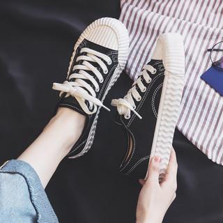 ZHR 平底饼干鞋女帆布鞋板鞋休闲鞋子女运动鞋女小白鞋女鞋