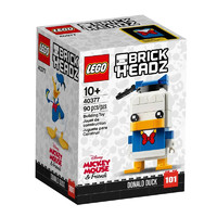 LEGO 乐高 Brick Headz 方头仔系列 40377 唐老鸭