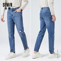 Semir 森马 10-9121124111 男士牛仔裤