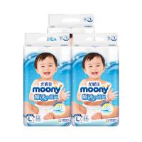 88VIP:moony 畅透微风系列 纸尿裤 L54片*4包