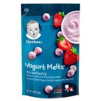 PLUS会员:Gerber 嘉宝 儿童酸奶溶豆零食   28g
