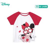Disney 迪士尼 男女童短袖T恤