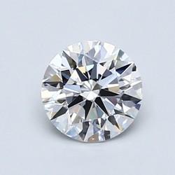 Blue Nile LD16027356 0.60克拉圆形切割钻石